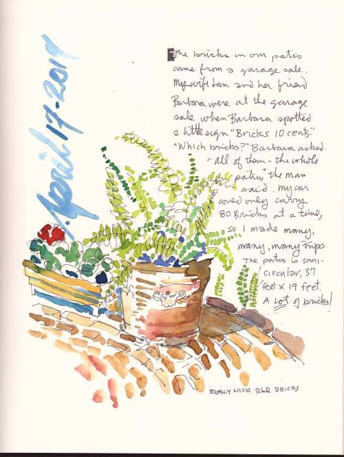 March Meeting - Sketchbook Journaling