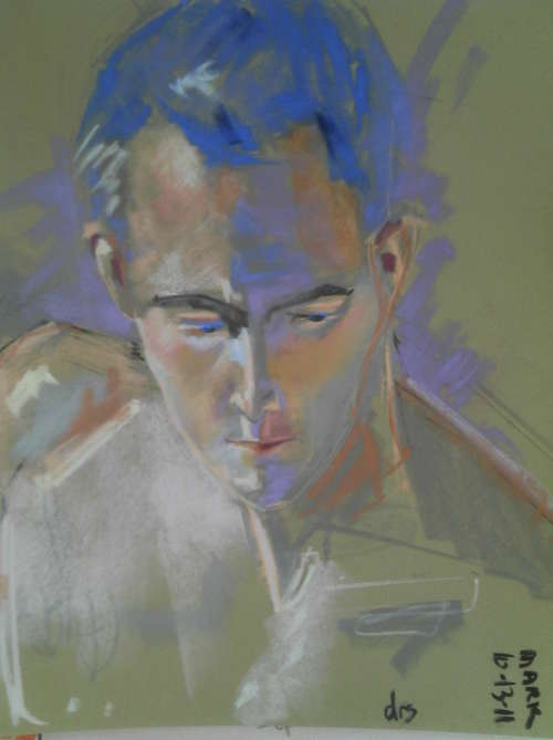 Painting Portraits in Pastel and other media